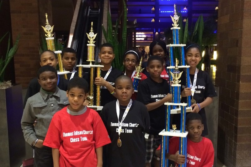 Chess Team Competes for 3rd Title!